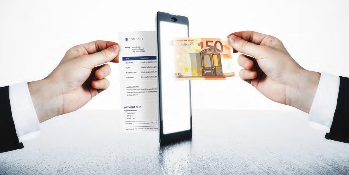Servizio di monetizzazione delle fatture by Digithera