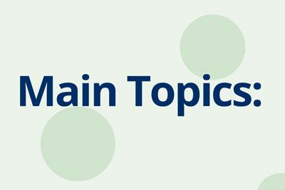 Main-topics